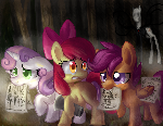 CUTIE MARK CRUSADERS P..paper gather..ers..?