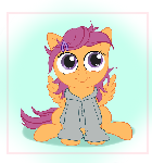Motherly Style Filly Scoots