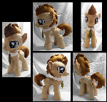 Doctor Whooves Plushie :Commission: