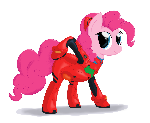 Pinkie's plugsuit