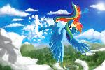 Rainbow Dash Moment