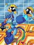 Megaman: Rainbow Dash