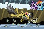 Eleven Phiranhas Leaping