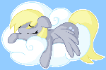 Sleeping cross eyed horse