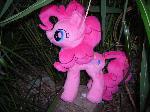 Pinkie Pie Plush hidden in the bush 1