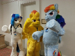 Fursuit Ponies!