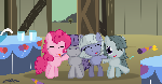 Pinkie pie sisters -A old foto-