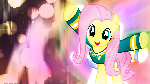 Fluttershy Found the Music