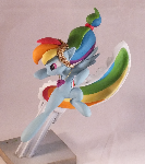 Divekick Rainbow Dash - single