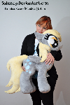 Giant Derpy Plush... and me!