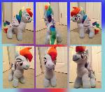 Rainbow Blitz Plush