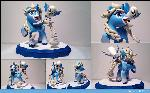 Commission: Snow Spell and Flick
