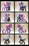 Cynder + WeAreBorg 3D-Printed Figures