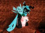 Chrysalis and Fluffle