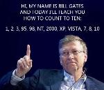 Apprendre à compter avec Bill Gates