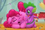 Pinkie and Spike