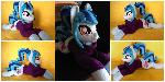 Plushie Sonata Dusk - 25.5 inches in length