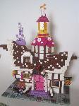Sugar cube corner en Lego