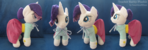 Teacher Rarity Plushie