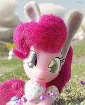 Pinkie Celebrates Easter