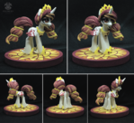 Princess Celestia figure (alternative design)
