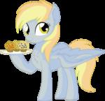 Derpy Vector 04 - Muffins
