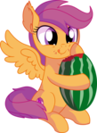 Scootaloo Vector 18 - Watermelon