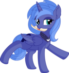Princess Luna Vector 11 - Letter