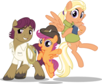 MLP Vector - The Adventuring Parents