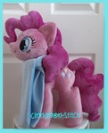 mlp plushie commission PINKIE PIE-Needs a Home
