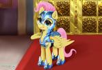 Fluttershy Crystal Guard