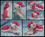 Pinkie Pie Custom Floppy Beanie Plush