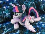 Twilight Sparkle Laying Plush