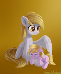 Derpy Hooves and Dinky Hooves