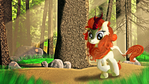 Autumn Blaze Strolling Through The Forest