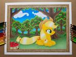 Applejack at Sweet Apple Acres