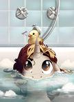 Bath Time (YCH)