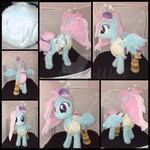 MLP 13 inch Kerfuffle Plushie w/ Removable Outfit