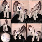 MLP 13 inch Marble Pie Plushie :Comm: