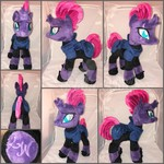 MLP 13 inch Tempest w/ Armor Plushie :Comm: