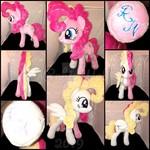 MLP Extra Floofy Pinkie Pie/Surprise hybrid plush
