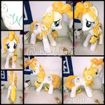 MLP 23 inch Pear Butter Plushie .:Commission:.