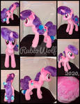MLP 13 inch Sugar Belle Plushie .:Commission:.