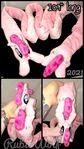 MLP Happy Pinkie Pie Magnetic Plushie Scarf