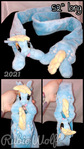 MLP Derpy Magnetic Plushie Scarf