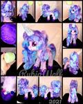 {AUCTION} MLP-G5 13 inch Izzy Moonbow Plushie