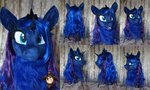 Princess Luna fursuit head
