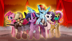 Mane 6 in wasteland