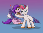 Protecting her Princess!