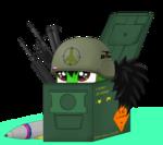 Army-pony box